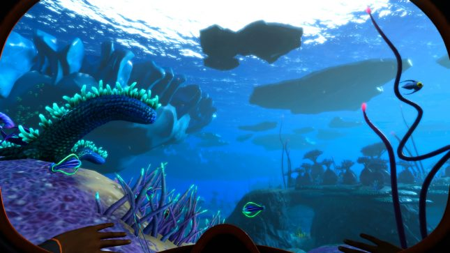 Jeu Subnautica : Below Zero sur Nintendo Switch : explore