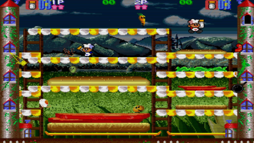 Super Burger Time est édité par Johnny Turbo's Arcade