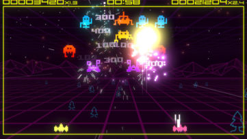 Jeu Super Destronaut DX sur Nintendo Switch : aperçu de gameplay