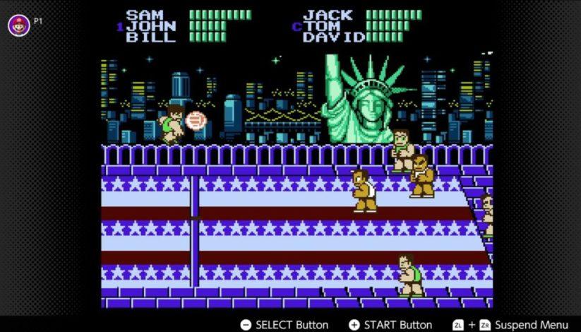 Jeu Super Dodge Ball sur Nintendo Switch : l'un des jeux NES du mois d'octobre