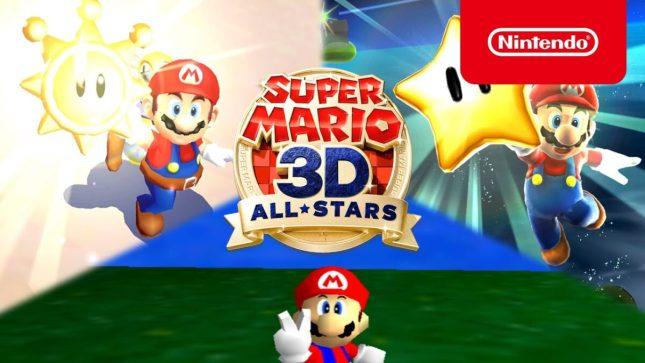 Jeu Super Mario 3D All-Stars sur Nintendo Switch : annonce du jeu