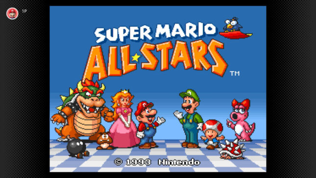 Jeu Super Mario All-Stars sur Nintendo Switch : la compilation est disponible sur le Nintendo Switch Online