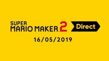 Jeu Super Mario Maker 2 sur Nintendo Switch : image d'annonce du Nintendo Direct du 16/05/2019