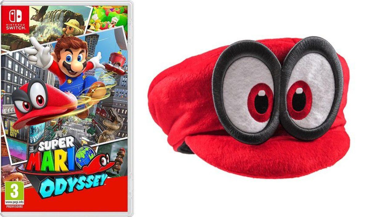 Bons de précommande Super Mario Odyssey : la casquette Cappy