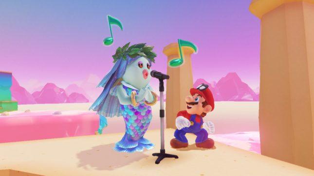 Kit VR Nintendo Labo dans Super Mario Odyssey sur Nintendo Switch : screenshot 3