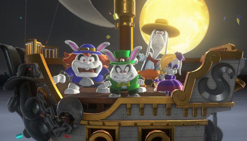 Jeu Super Mario Odyssey sur Nintendo Switch : les Broodals vont vous barrer la route