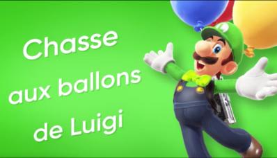 Jeu Super Mario Odyssey sur Nintendo Switch : cover de la chasse aux ballons