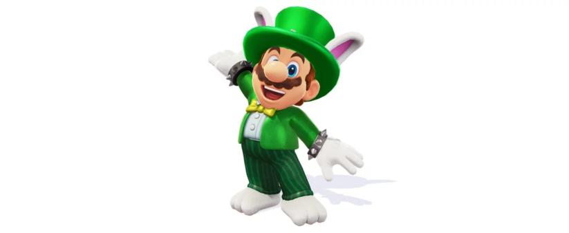 Jeu Super Mario Odyssey sur Nintendo Switch : costume de Topper le Broodal