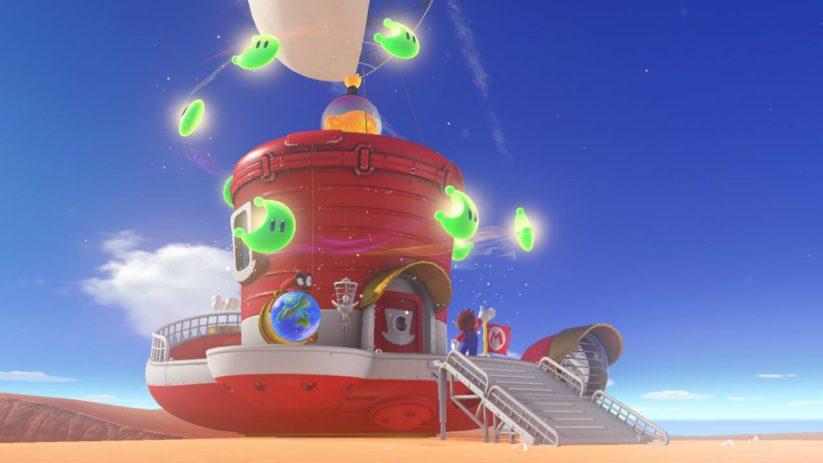 Super Mario Odyssey : Power Moons