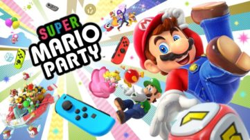 Jeu Super Mario Party sur Nintendo Switch : artwork du jeu