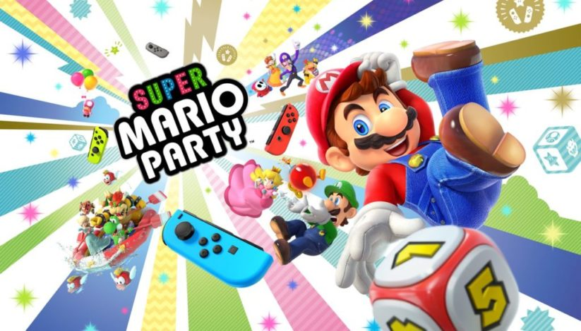 Super Mario Party arrivera le 5 octobre prochain sur Switch