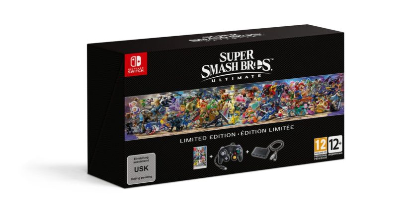 Jeu Super Smash Bros. Ultimate sur Nintendo Switch : bundle Gamecube