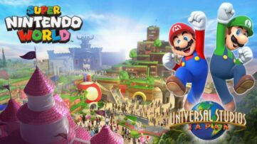 Super Nintendo World : le parc d'attraction 100% Nintendo au Japon permettra des interactions avec la Switch