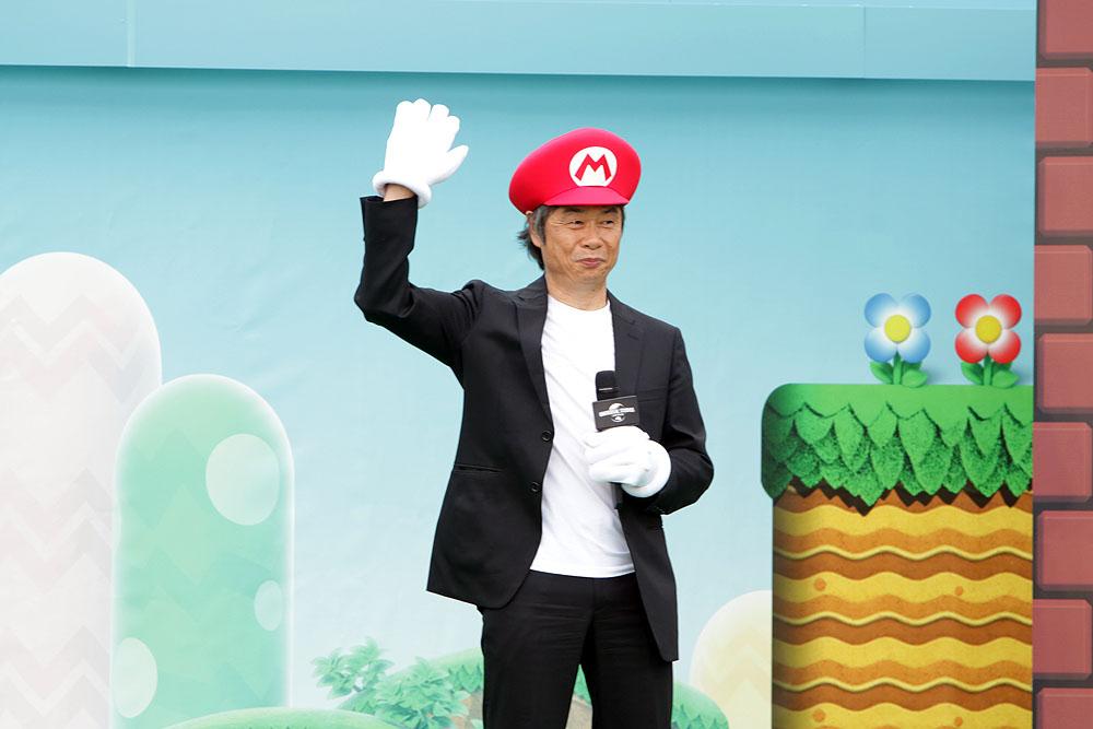 Shigeru Miyamoto lance Super Nintendo World