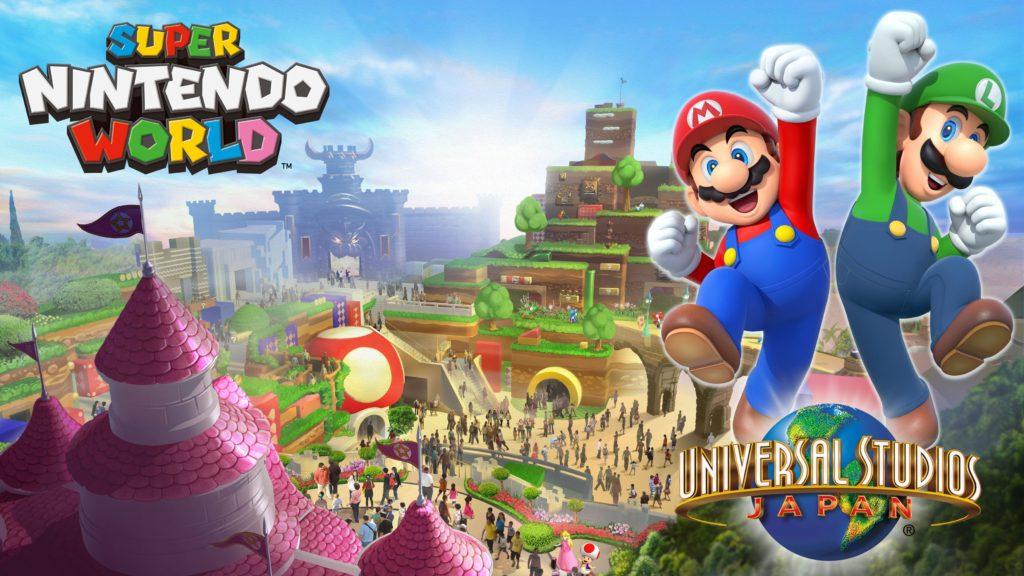 Super Nintendo World : le parc d'attraction 100% Nintendo au Japon permettra des interactions avec la Switch