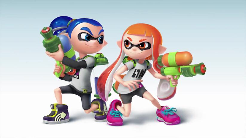 Jeu Super Smash Bros sur Nintendo Switch : les Inklings débarquent