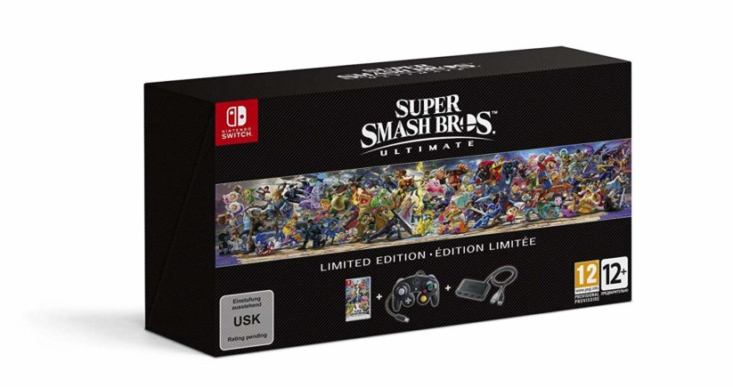 Pack Super Smash Bros Ultimate version collector : packaging