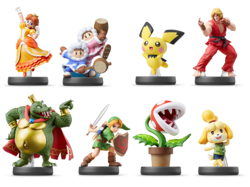 Jeu Super Smash Bros. Ultimate sur Nintendo Switch : Amiibo à venir en 2019
