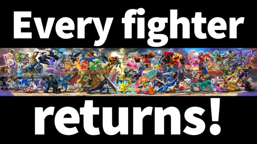Tous les personnages de la saga SSB dans Super Smash Bros. Ultimate sur Nintendo Switch