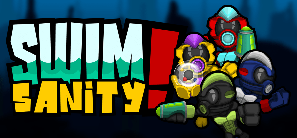 Jeu Swimsanity! sur Nintendo Switch : artwork du jeu