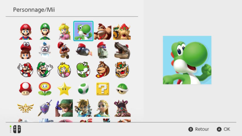 Switch Version 4.0 Nouveaux Avatars