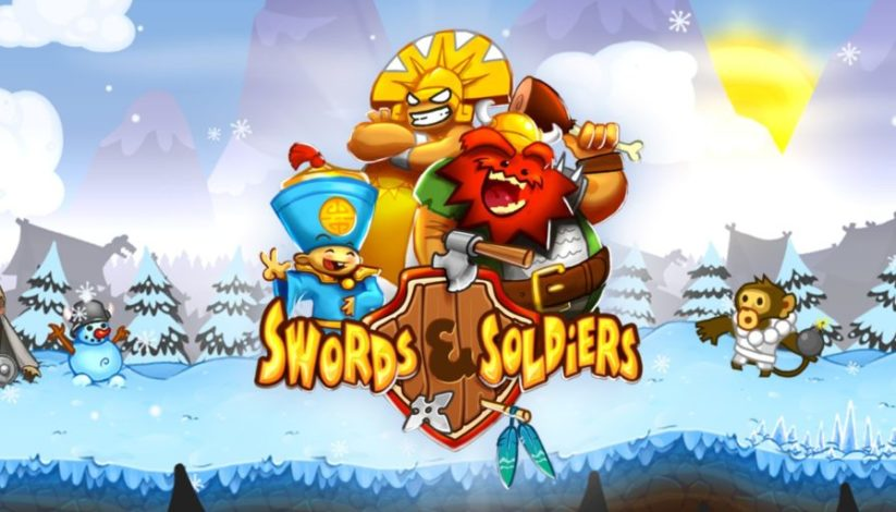 Jeu Swords & Soldiers sur Nintendo Switch : artwork du jeu