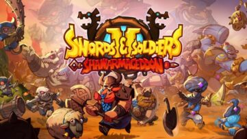Jeu Swords & Soldiers 2 Shawarmaggedon sur Nintendo Switch : artwork du jeu