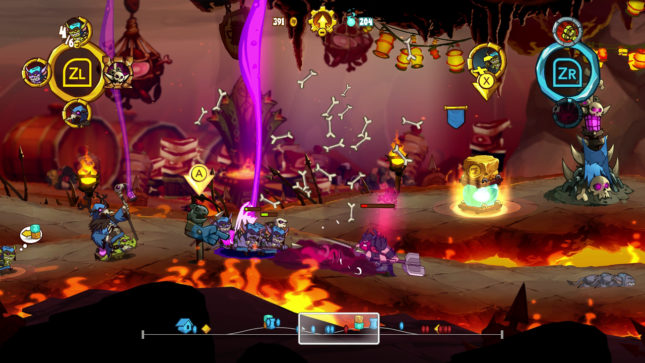 Jeu Swords & Soldiers 2 Shawarmaggedon sur Nintendo Switch : sortirez-vous indemne des enfers ?