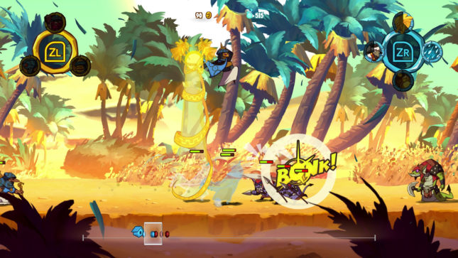 Jeu Swords & Soldiers 2 Shawarmaggedon sur Nintendo Switch : des affrontements explosifs