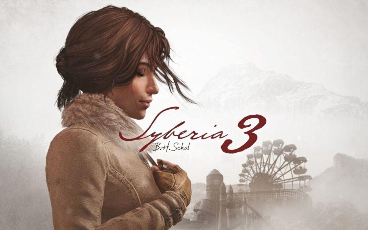 Jeu Syberia 3 sur Nintendo Switch : artwork du jeu