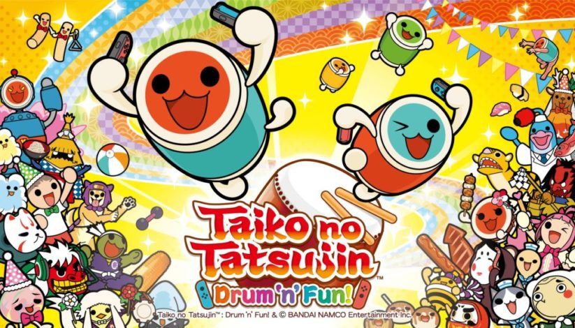Jeu Taiko no Tatsujin : Drum 'n' Fun sur Nintendo Switch : artwork du jeu