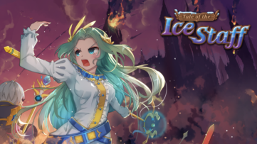 Jeu Tale of the Ice Staff sur Nintendo Switch : artwork du jeu