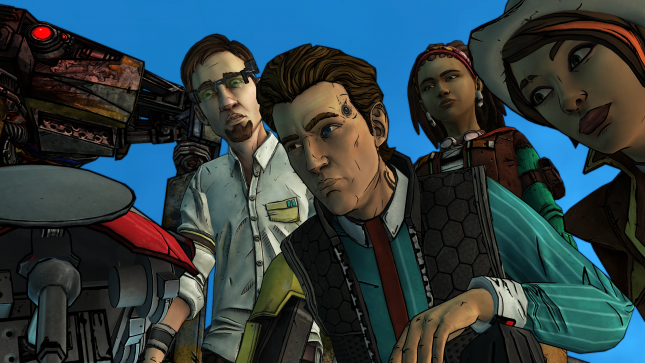 Jeu Tales From The Borderlands sur Nintendo Switch : photo de groupe