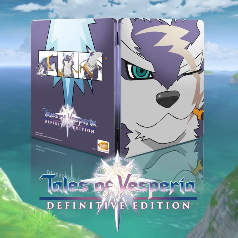 Un steelbook pour Tales of Vesperia: Definitive Edition