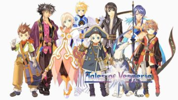 Jeu Tales of Vesperia : Definitive Edition sur Nintendo Switch : artwork des personnages