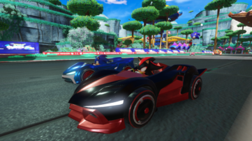 Jeu Team Sonic Racing sur Nintendo Switch : la Team Sonic rivalise avec la Team Dark