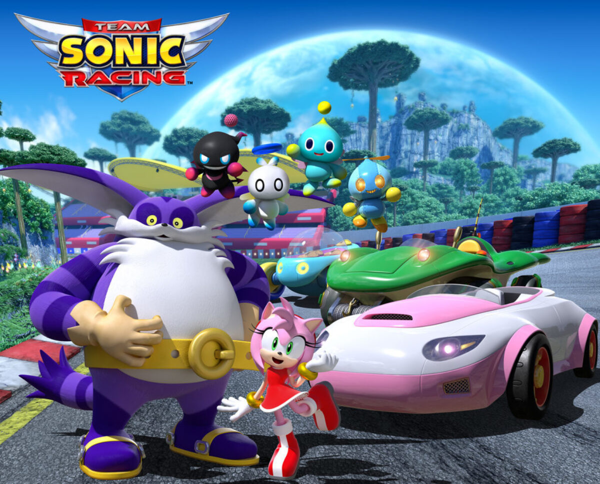 Jeu Team Sonic Racing sur Nintendo Switch : la Team Rose se présente