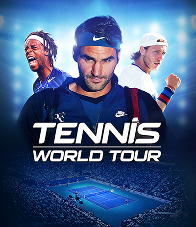 Jeu Tennis World Tour sur Nintendo Switch : jaquette Française