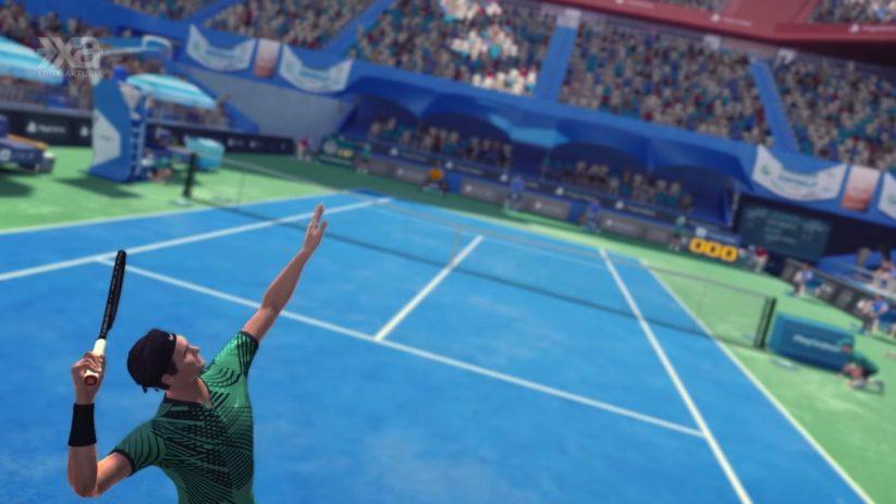 La sortie de Tennis World Tour est repoussée au 12 juin