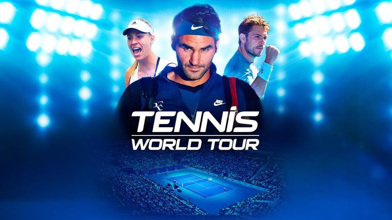 Tennis World Tour : quelques minutes de gameplay pour deux joueurs de légende