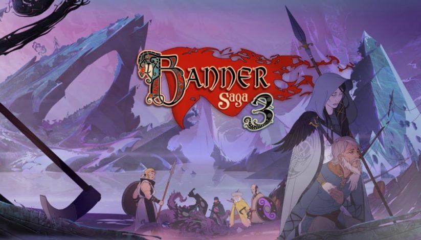 Jeu The Banner Saga 3 sur Nintendo Switch : écran titre