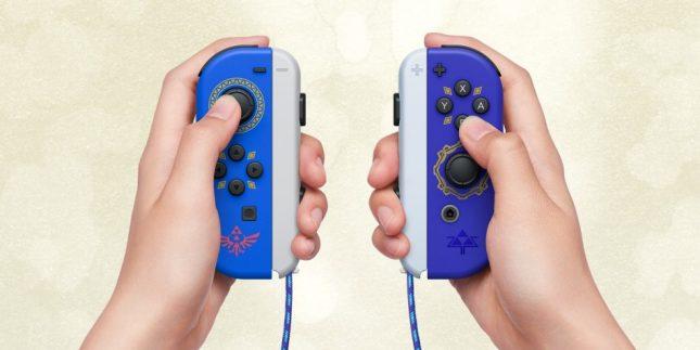 The Legend of Zelda : Skyward Sword HD sur Nintendo Switch - Joy-Cons en édition spéciale