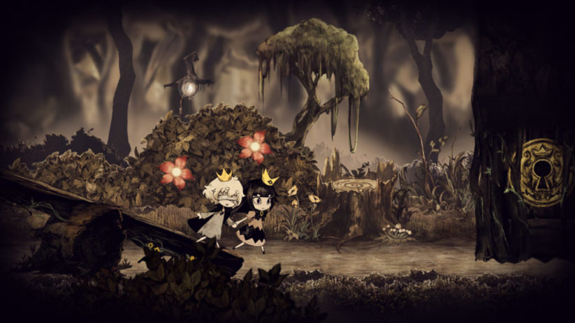Jeu The Liar Princess and the Blind Prince sur Nintendo Switch : tenons nous la main