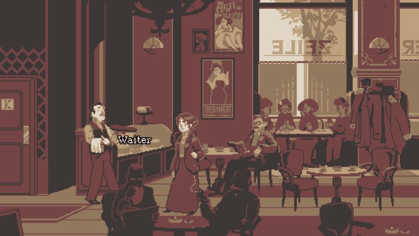 Jeu The Lion's Song sur Nintendo Switch : le café est au cœur de l'histoire