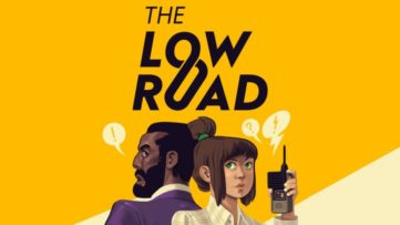 Jeu The Low Road sur Nintendo Switch : artwork du jeu