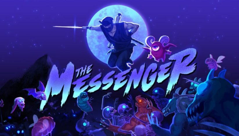 Jeu The Messenger sur Nintendo Switch : artwork du jeu