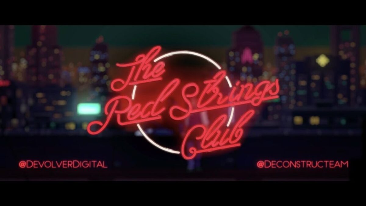 The Red Strings Club disponible dés aujourd'hui