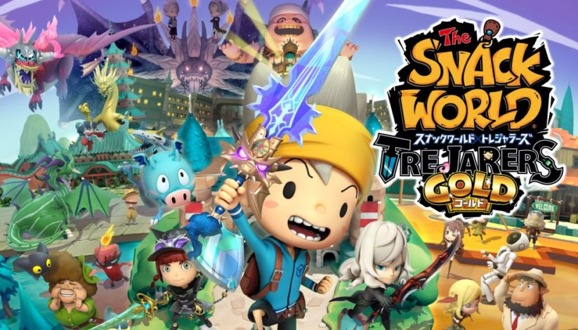 The Snack World : Trejarers Gold arrive sur Switch