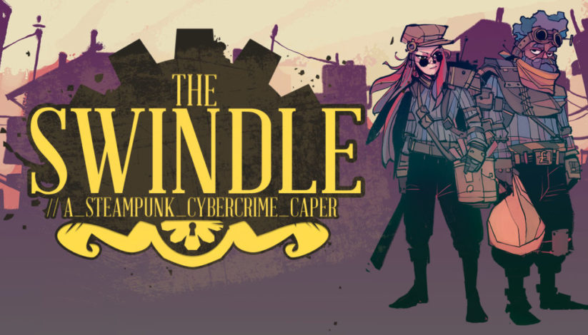 Jeu The Swindle sur Nintendo Switch : artwork du jeu