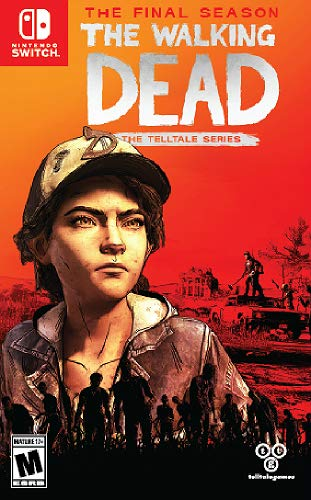 Boxart anglais du jeu The Walking Dead : L'Ultime Saison sur Nintendo Switch